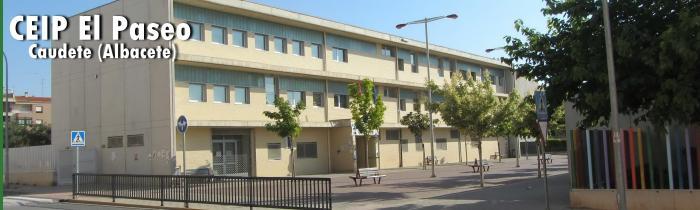 """Edificio de Educación Primaria - CEIP """"El Paseo"""" Caudete (Albacete)"""