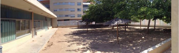 """Patio de Educación Infantil - CEIP """"El Paseo"""" Caudete (Albacete)"""